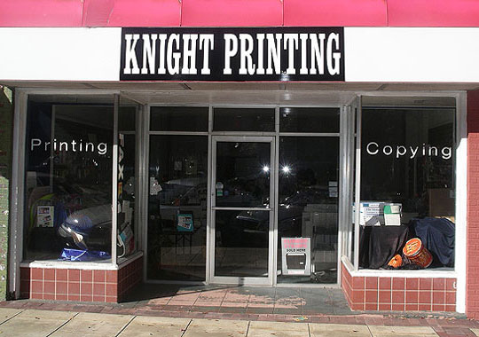 Knight Printing in Newnan